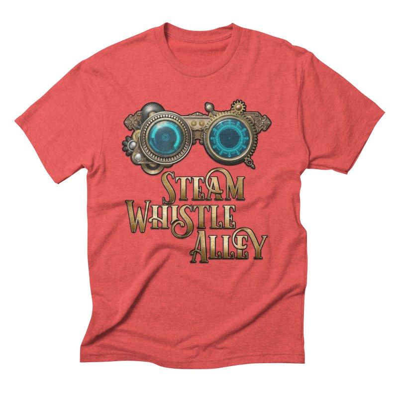 SWA Goggles Men's Triblend T-Shirt by steamwhistlealley's Artist Shop