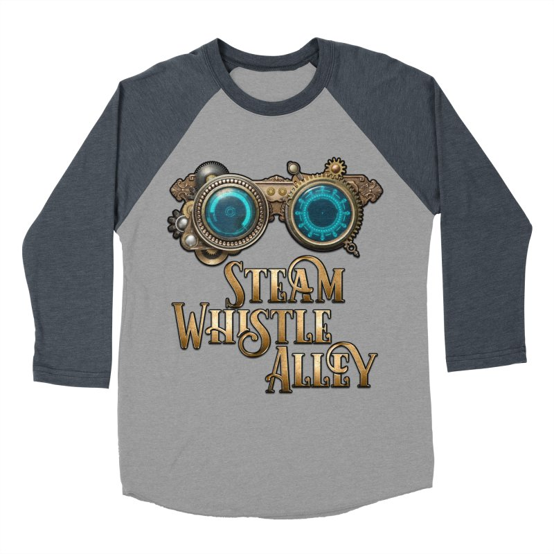 SWA Goggles Women's Baseball Triblend Longsleeve T-Shirt by steamwhistlealley's Artist Shop