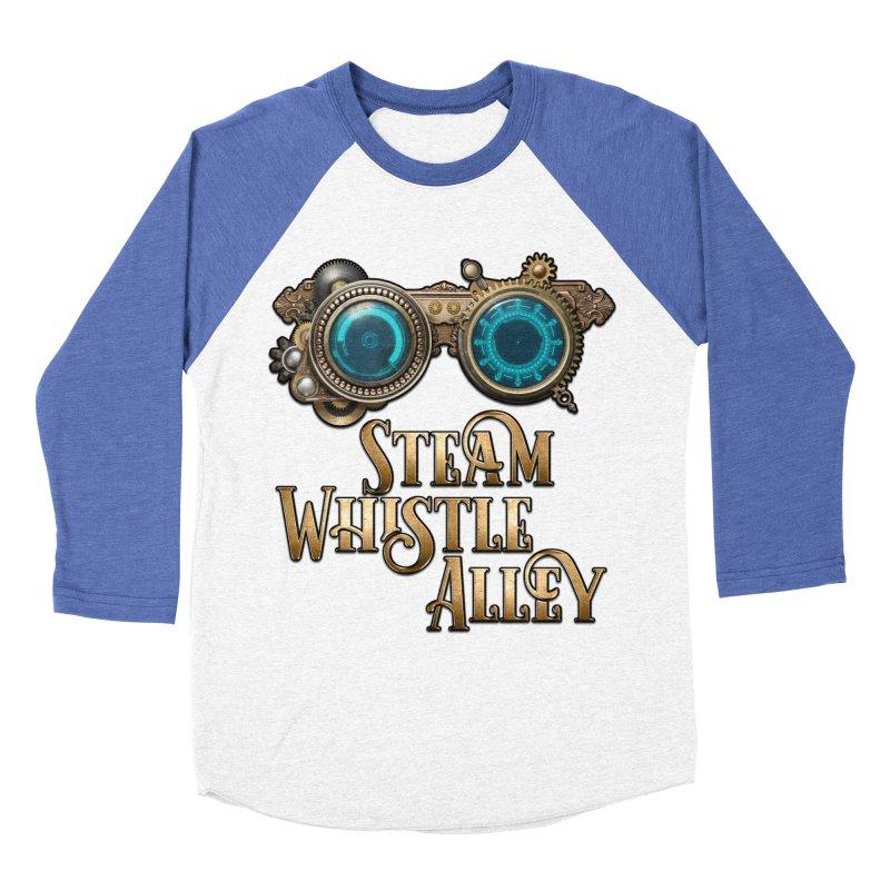 SWA Goggles Men's Baseball Triblend Longsleeve T-Shirt by steamwhistlealley's Artist Shop