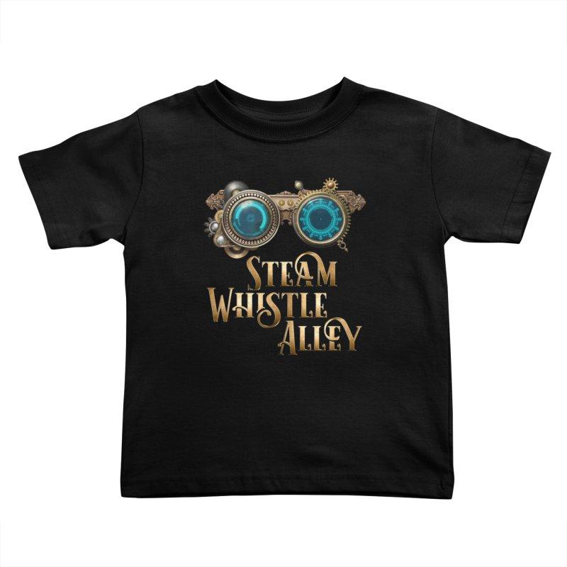 SWA Goggles Kids Toddler T-Shirt by steamwhistlealley's Artist Shop
