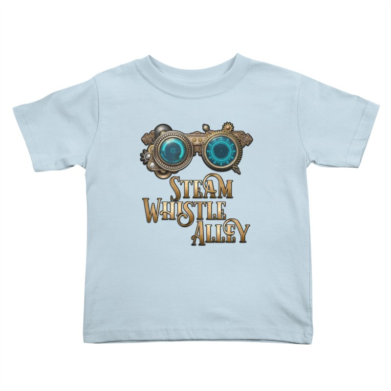 SWA Goggles Kids Toddler T-Shirt by steamwhistlealley's Artist Shop