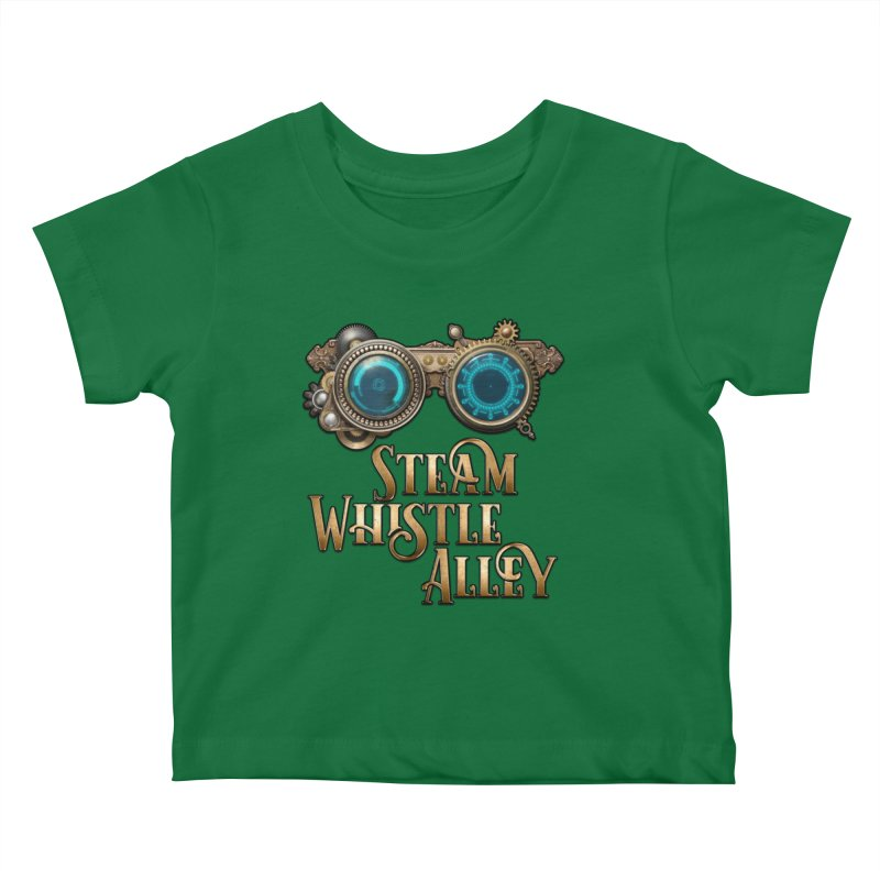 SWA Goggles Kids Baby T-Shirt by steamwhistlealley's Artist Shop