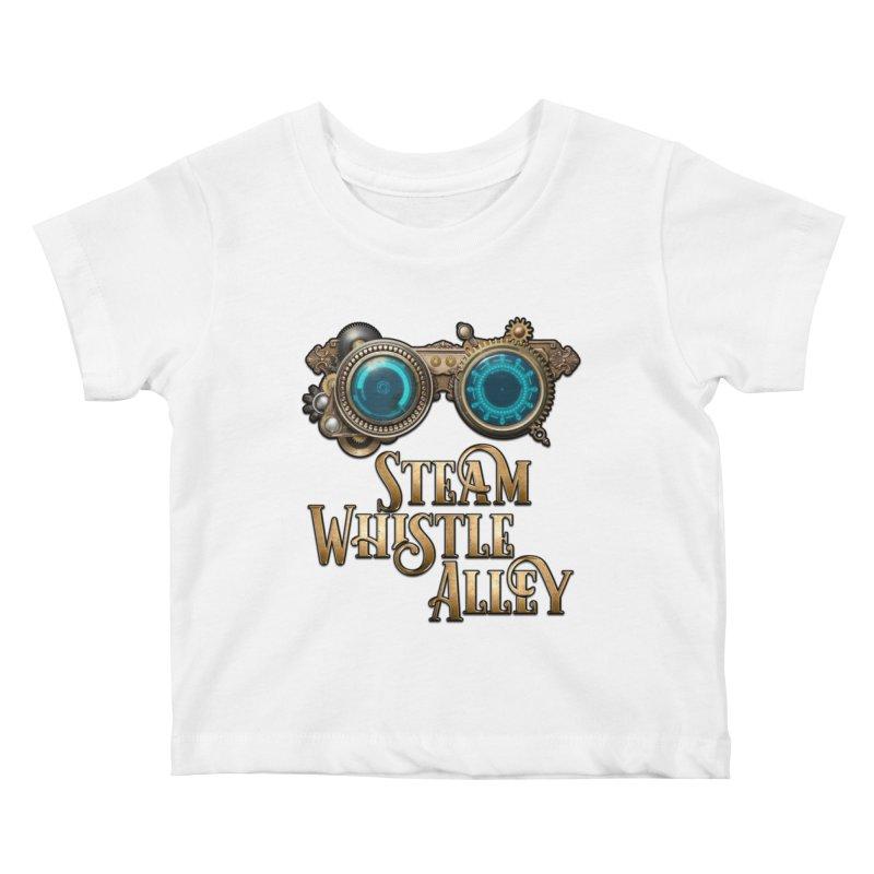 SWA Goggles Kids Baby T-Shirt by steamwhistlealley's Artist Shop