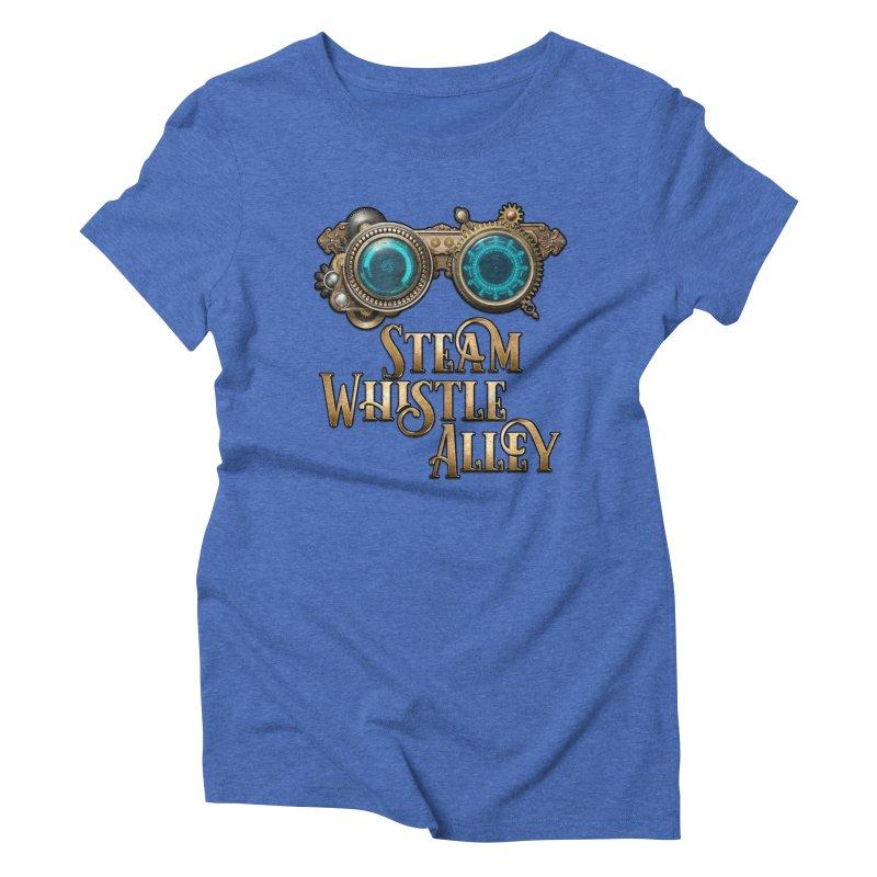 SWA Goggles Women's T-Shirt by steamwhistlealley's Artist Shop