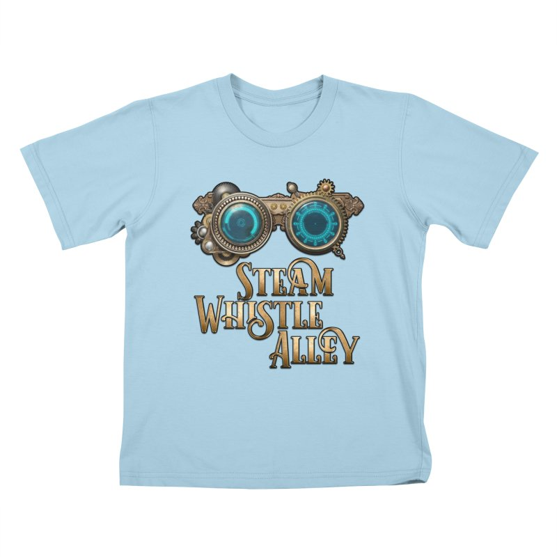 SWA Goggles Kids T-Shirt by steamwhistlealley's Artist Shop