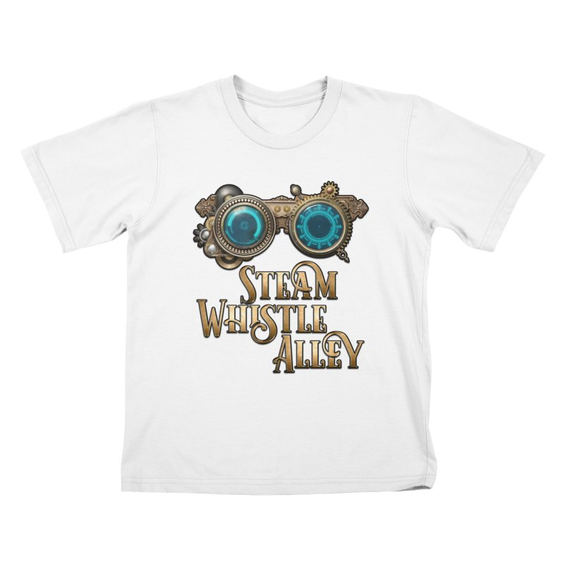 SWA Goggles Kids T-Shirt by steamwhistlealley's Artist Shop