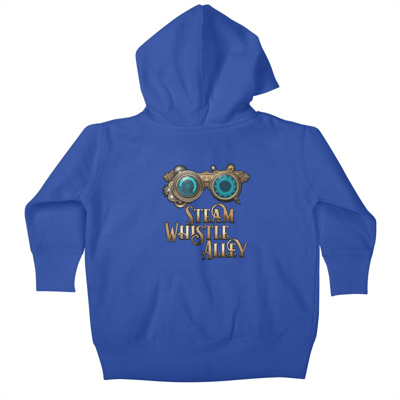 SWA Goggles Kids Baby Zip-Up Hoody by steamwhistlealley's Artist Shop