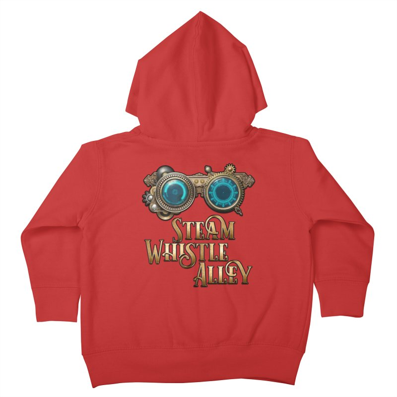 SWA Goggles Kids Toddler Zip-Up Hoody by steamwhistlealley's Artist Shop