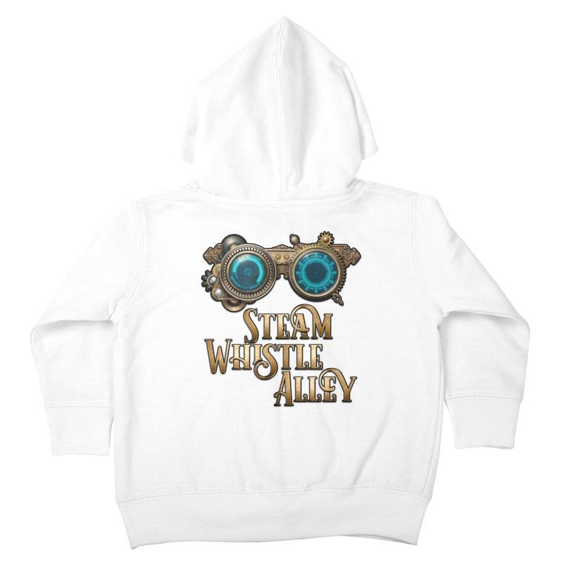 SWA Goggles Kids Toddler Zip-Up Hoody by steamwhistlealley's Artist Shop