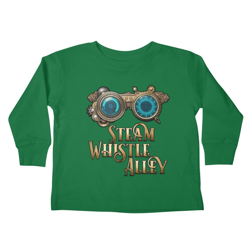 SWA Goggles Kids Toddler Longsleeve T-Shirt by steamwhistlealley's Artist Shop