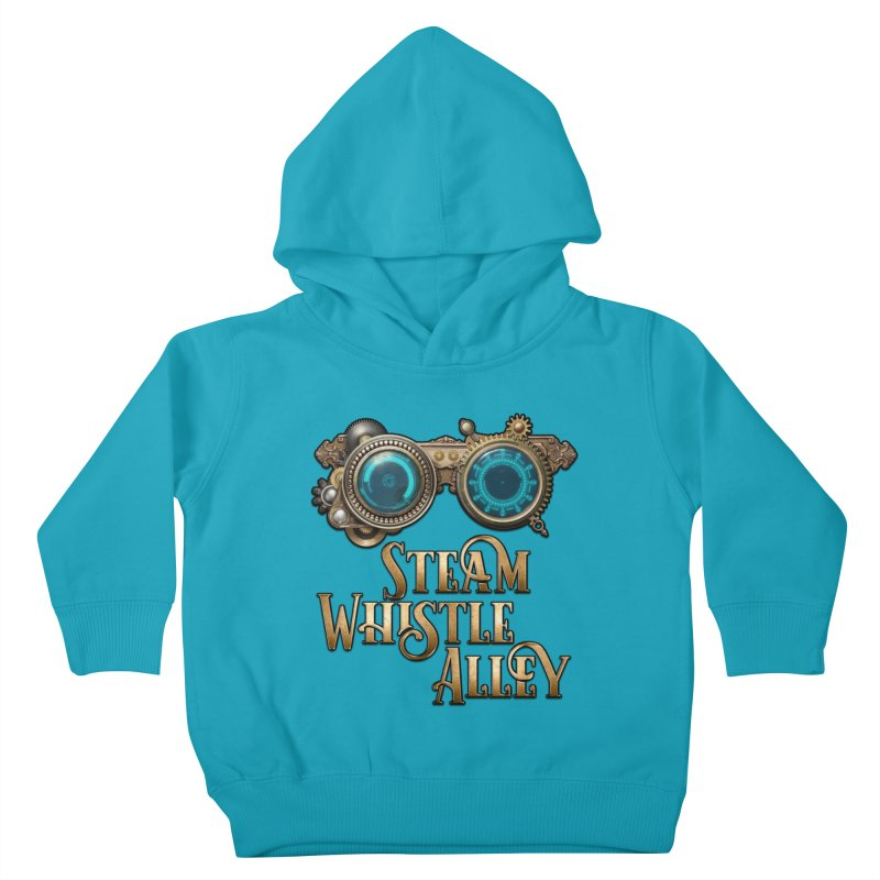 SWA Goggles Kids Toddler Pullover Hoody by steamwhistlealley's Artist Shop