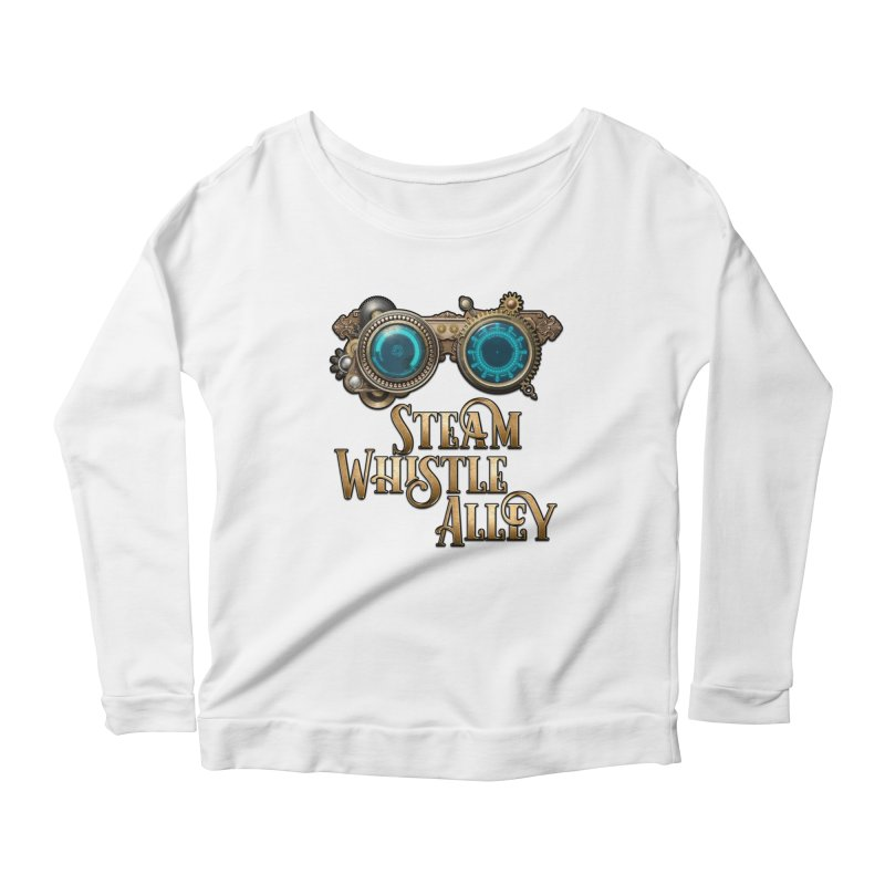 SWA Goggles Women's Scoop Neck Longsleeve T-Shirt by steamwhistlealley's Artist Shop