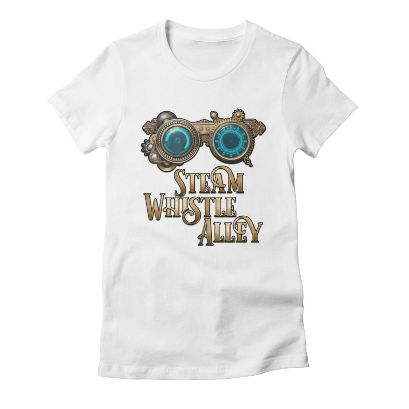 SWA Goggles Women's Fitted T-Shirt by steamwhistlealley's Artist Shop