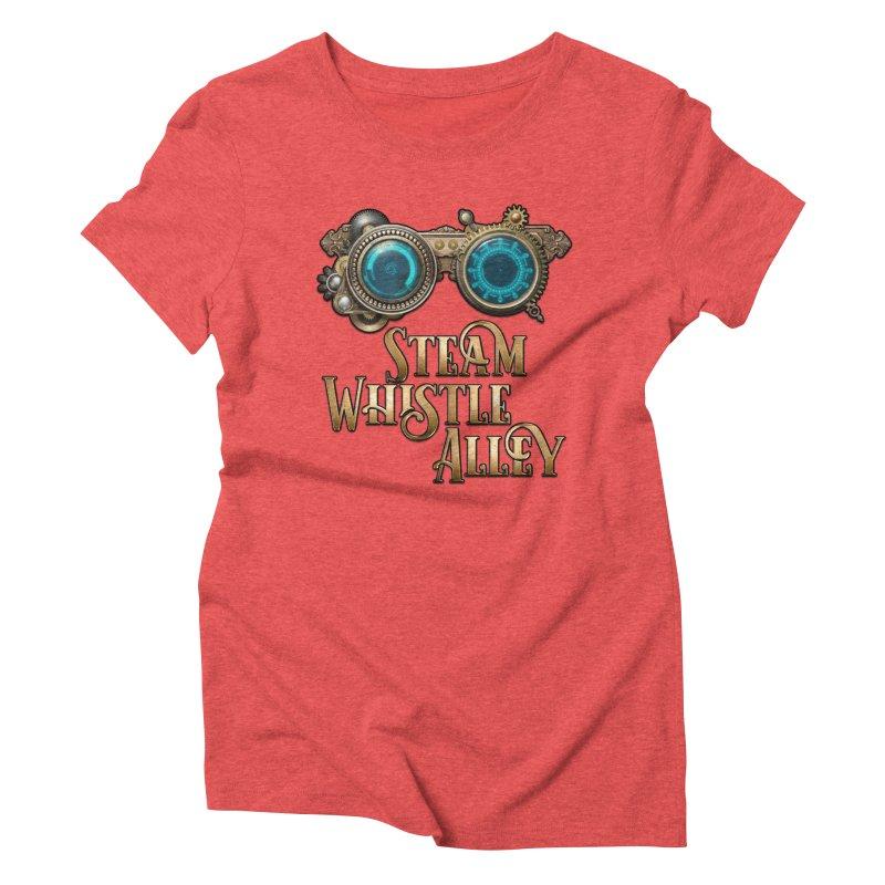 SWA Goggles Women's Triblend T-Shirt by steamwhistlealley's Artist Shop