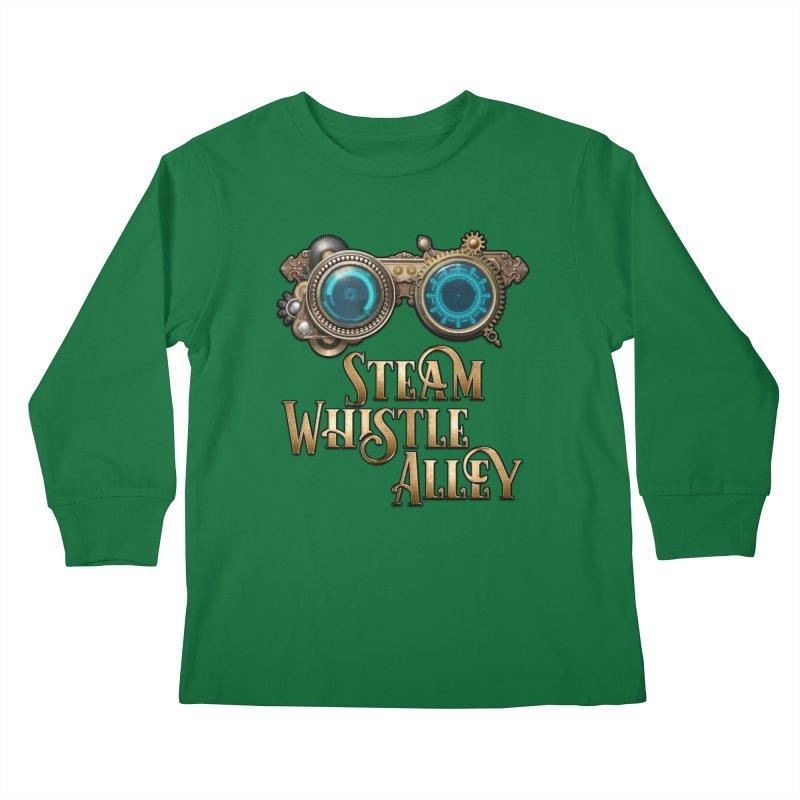 SWA Goggles Kids Longsleeve T-Shirt by steamwhistlealley's Artist Shop