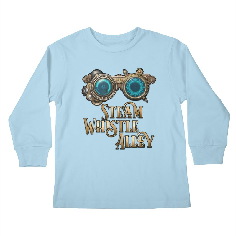 SWA Goggles Kids Longsleeve T-Shirt by steamwhistlealley's Artist Shop