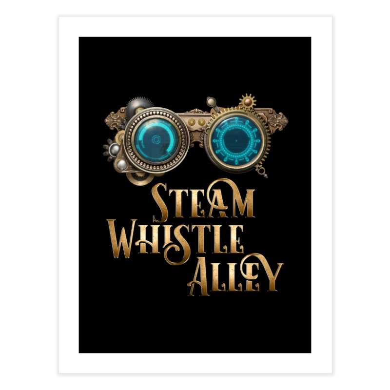SWA Goggles Home Fine Art Print by steamwhistlealley's Artist Shop