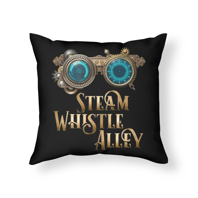 SWA Goggles Home Throw Pillow by steamwhistlealley's Artist Shop