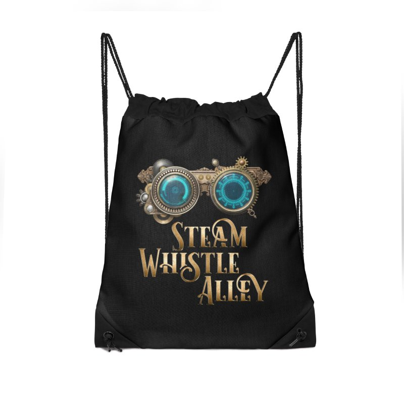 SWA Goggles Accessories Drawstring Bag Bag by steamwhistlealley's Artist Shop