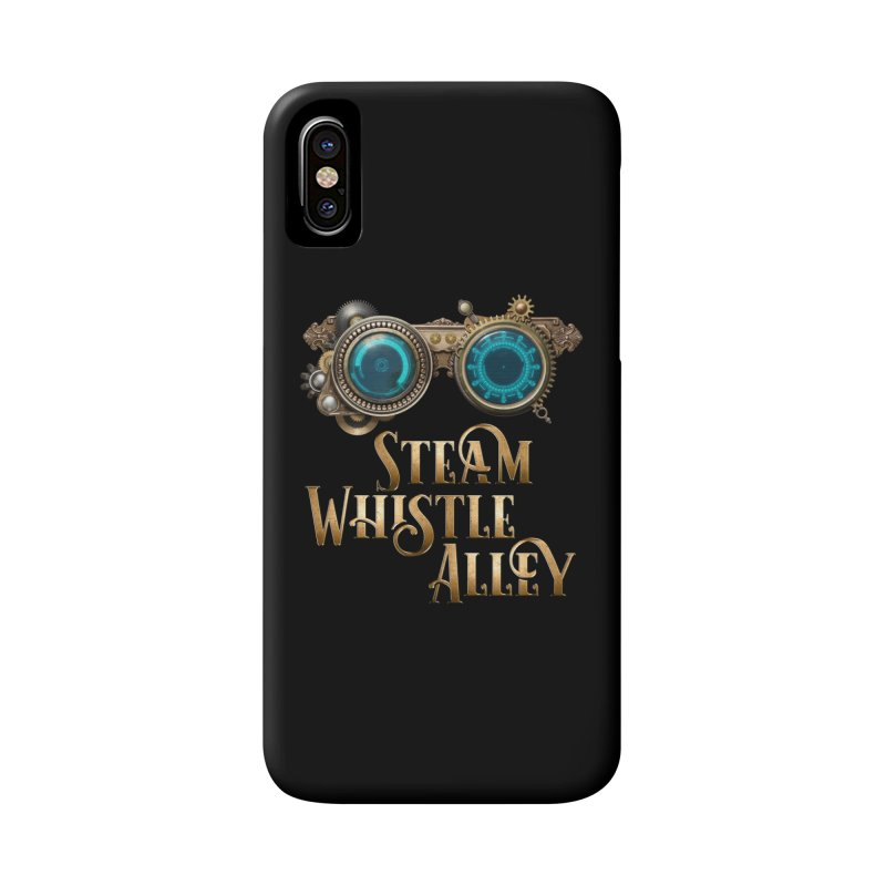 SWA Goggles Accessories Phone Case by steamwhistlealley's Artist Shop
