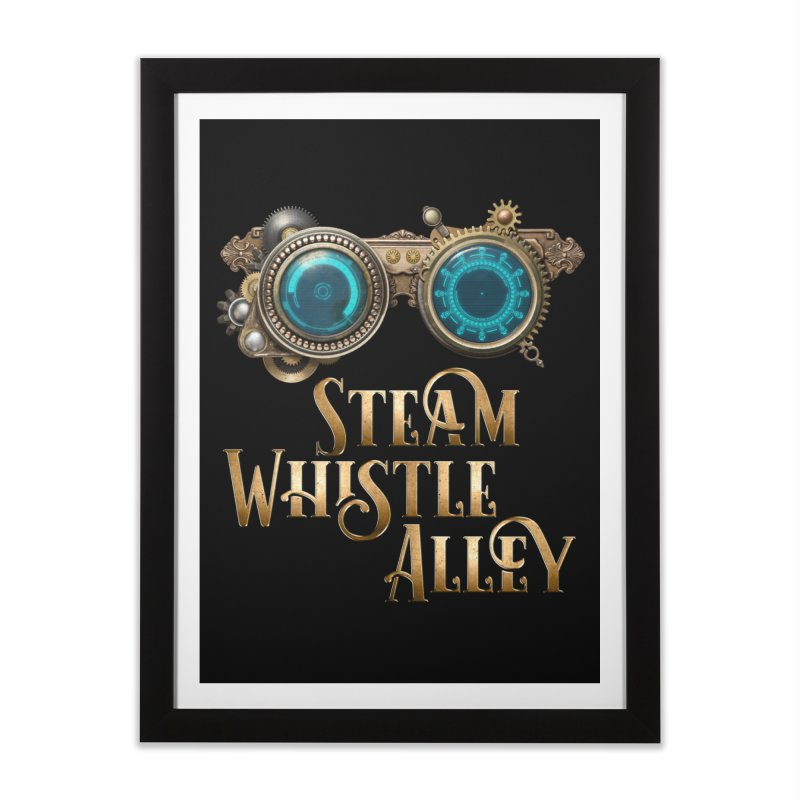 SWA Goggles Home Framed Fine Art Print by steamwhistlealley's Artist Shop