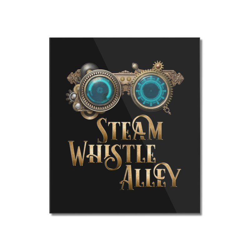 SWA Goggles Home Mounted Acrylic Print by steamwhistlealley's Artist Shop