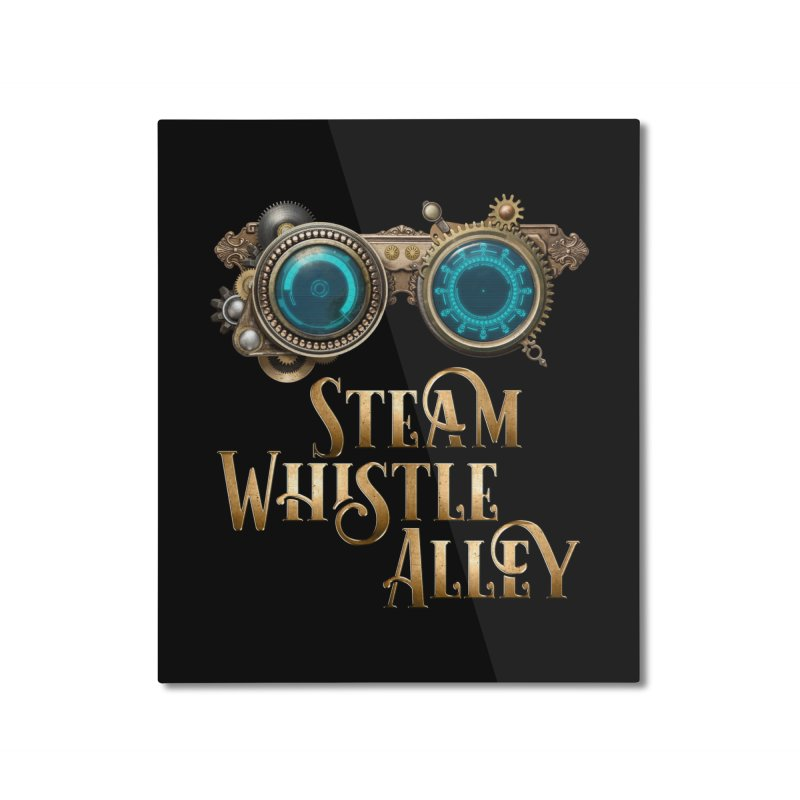 SWA Goggles Home Mounted Aluminum Print by steamwhistlealley's Artist Shop