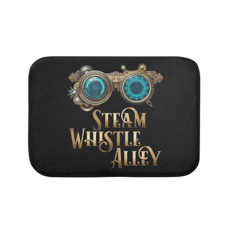 SWA Goggles Home Bath Mat by steamwhistlealley's Artist Shop