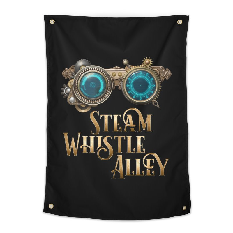 SWA Goggles Home Tapestry by steamwhistlealley's Artist Shop