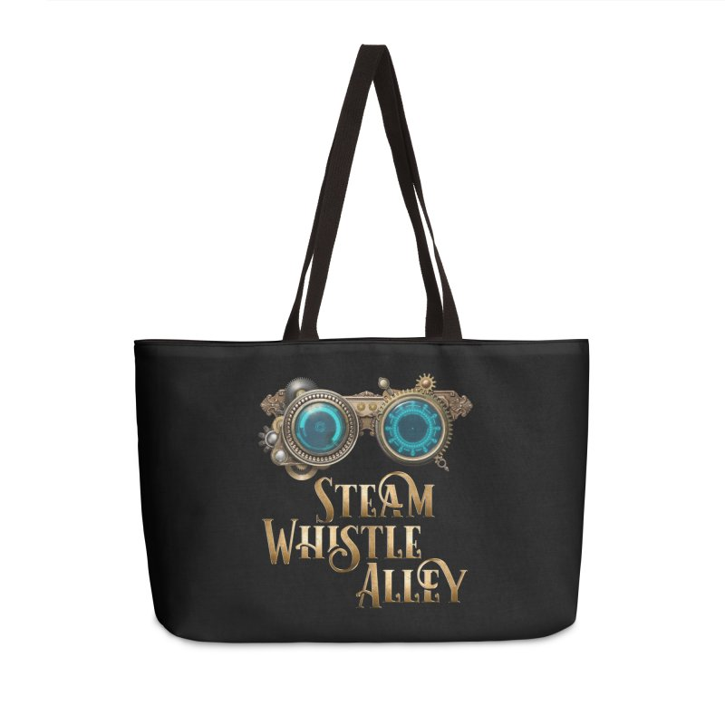 SWA Goggles Accessories Weekender Bag Bag by steamwhistlealley's Artist Shop