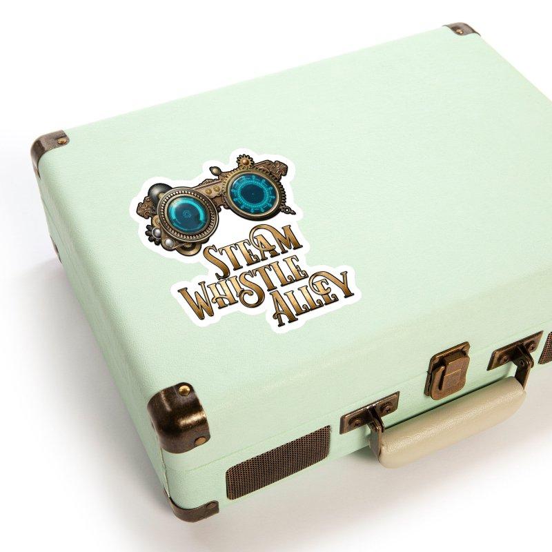 SWA Goggles Accessories Sticker by steamwhistlealley's Artist Shop