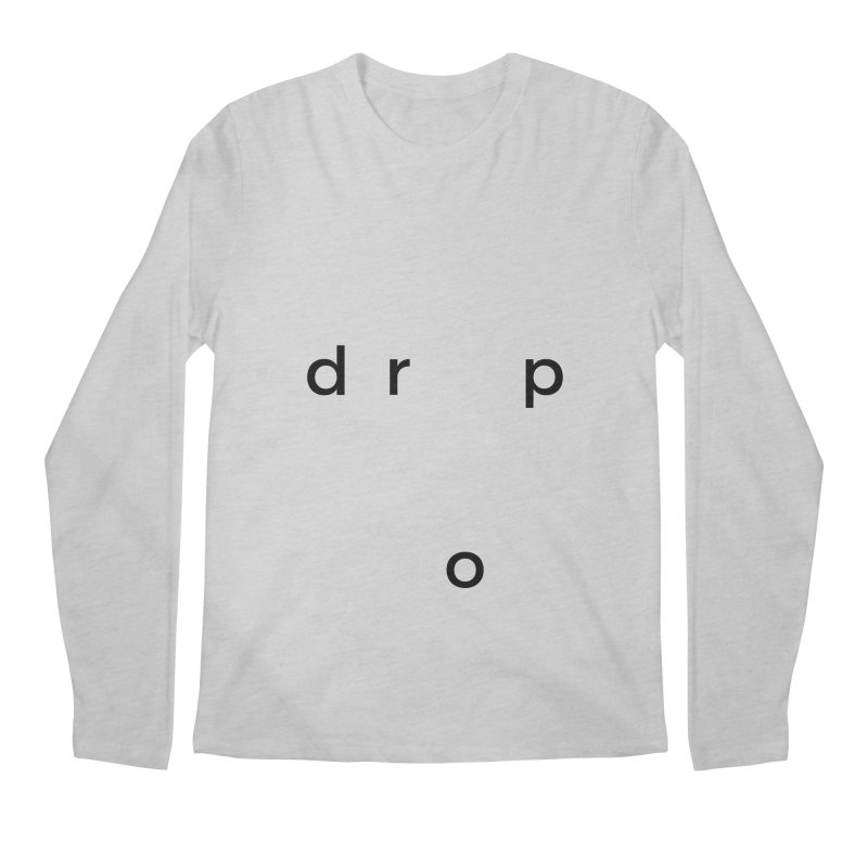 drop Men's Longsleeve T-Shirt by Stefan Parnarov