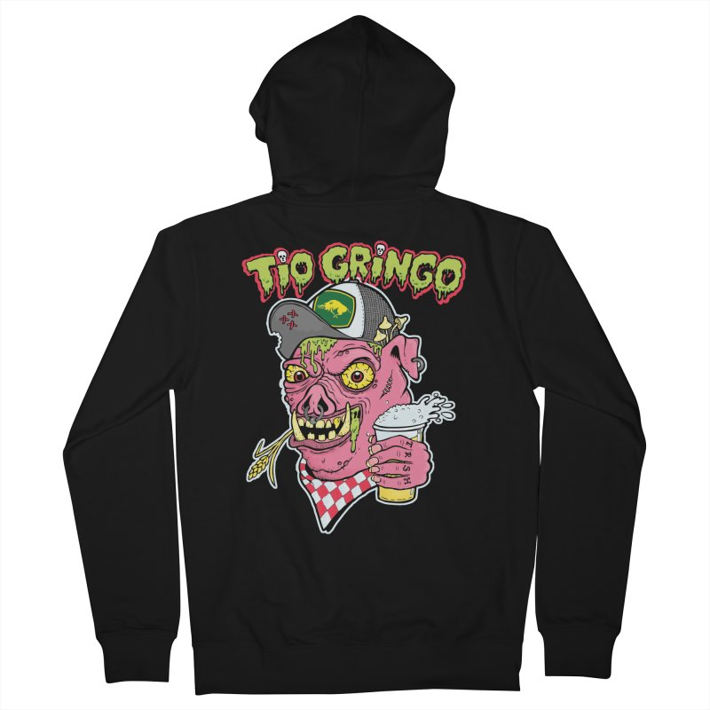 Tio Gringo Women's French Terry Zip-Up Hoody by $TEF BRO$