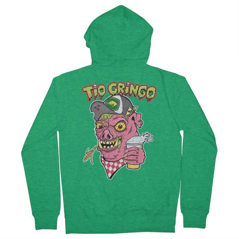 Tio Gringo Men's French Terry Zip-Up Hoody by $TEF BRO$