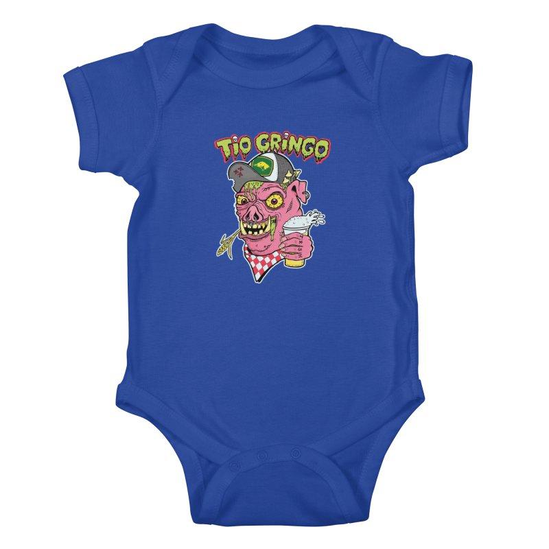 Tio Gringo Kids Baby Bodysuit by $TEF BRO$