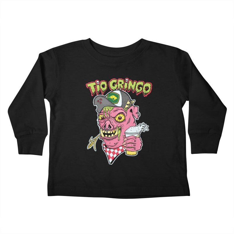 Tio Gringo Kids Toddler Longsleeve T-Shirt by $TEF BRO$
