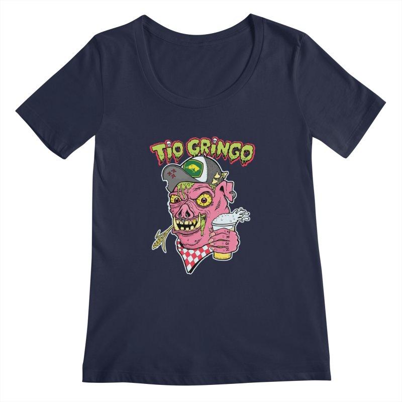 Tio Gringo Women's Regular Scoop Neck by $TEF BRO$