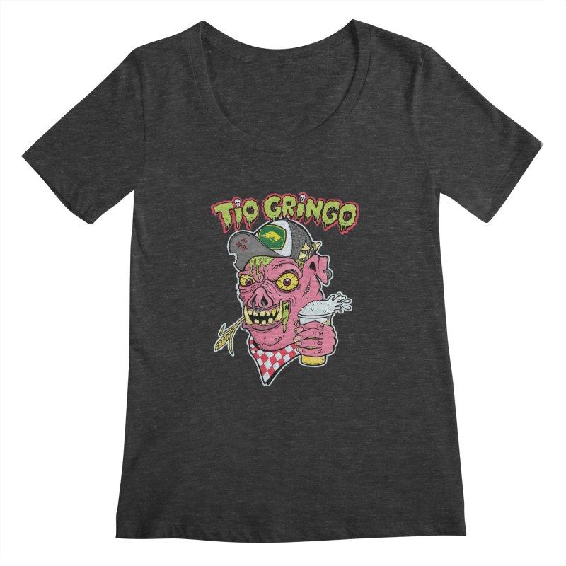 Tio Gringo Women's Scoopneck by $TEF BRO$