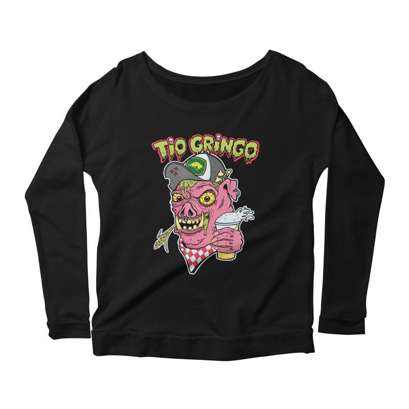 Tio Gringo Women's Longsleeve Scoopneck  by $TEF BRO$