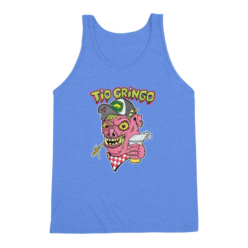 Tio Gringo Men's Triblend Tank by $TEF BRO$