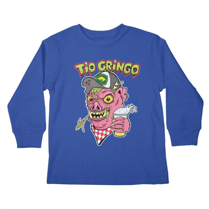 Tio Gringo Kids Longsleeve T-Shirt by $TEF BRO$
