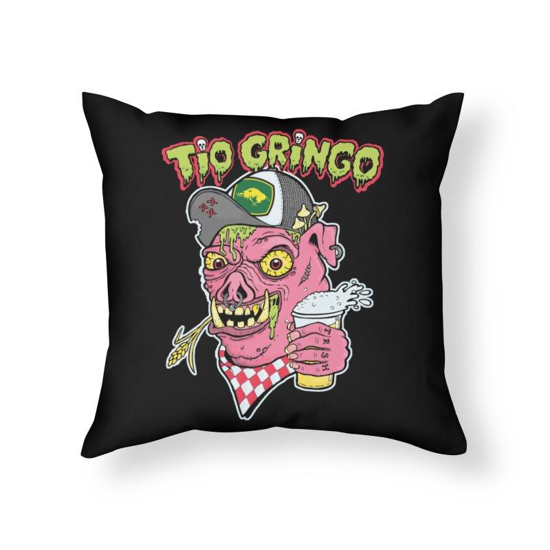 Tio Gringo Home Throw Pillow by $TEF BRO$