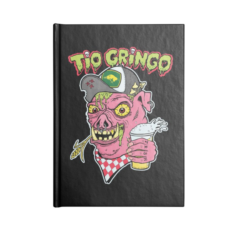 Tio Gringo Accessories Blank Journal Notebook by $TEF BRO$