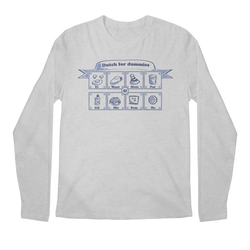 Dutch for Dummies Men's Regular Longsleeve T-Shirt by $TEF BRO$