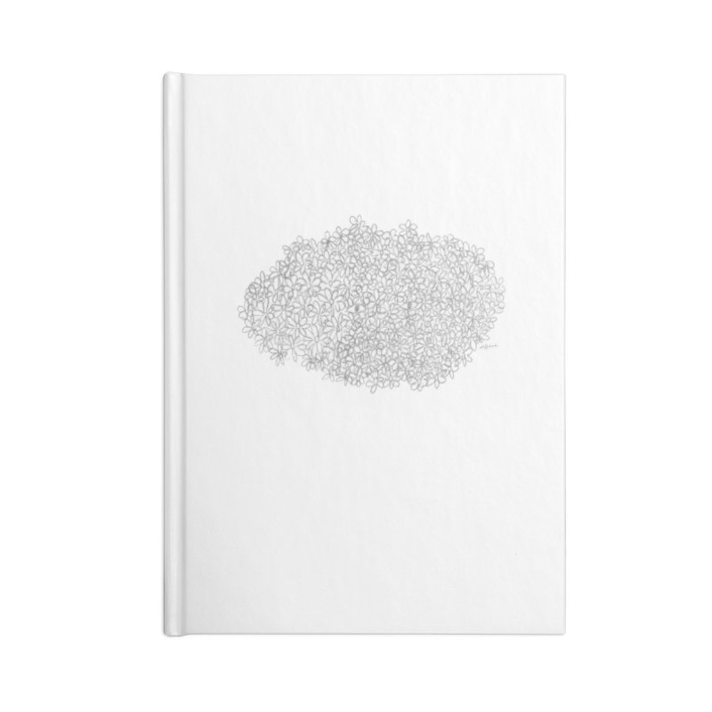 Eyes In A Bush Accessories Notebook by Steff Bomb's Artist Shop
