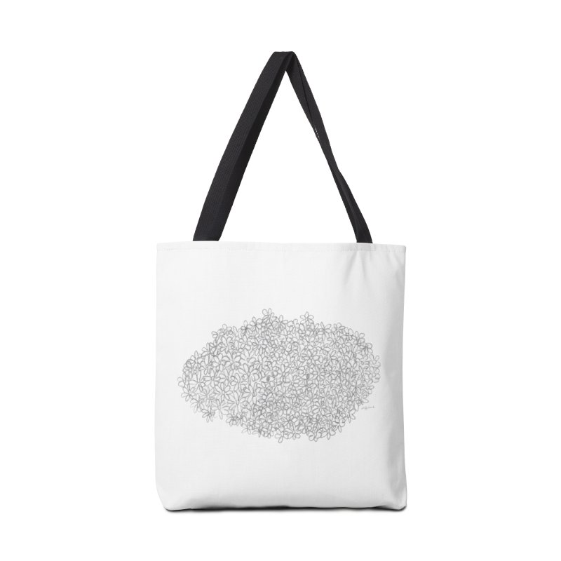 Eyes In A Bush Accessories Bag by Steff Bomb's Artist Shop