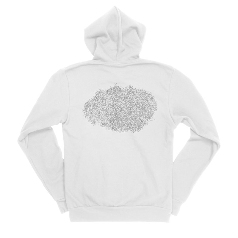 Eyes In A Bush Men's Zip-Up Hoody by Steff Bomb's Artist Shop