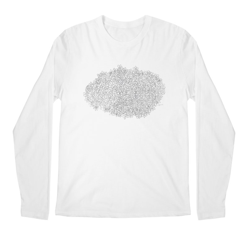 Eyes In A Bush Men's Longsleeve T-Shirt by Steff Bomb's Artist Shop