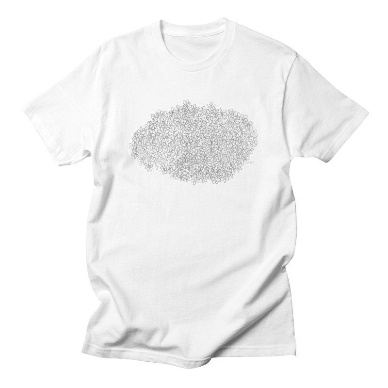 Eyes In A Bush Men's T-Shirt by Steff Bomb's Artist Shop