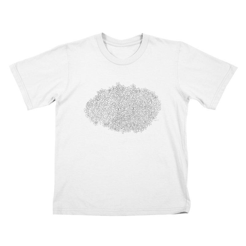 Eyes In A Bush Kids T-Shirt by Steff Bomb's Artist Shop